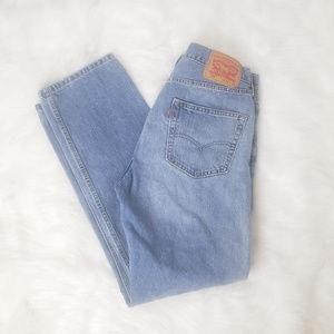 Levi's 505 Regular Fit Men's Jeans Size 34